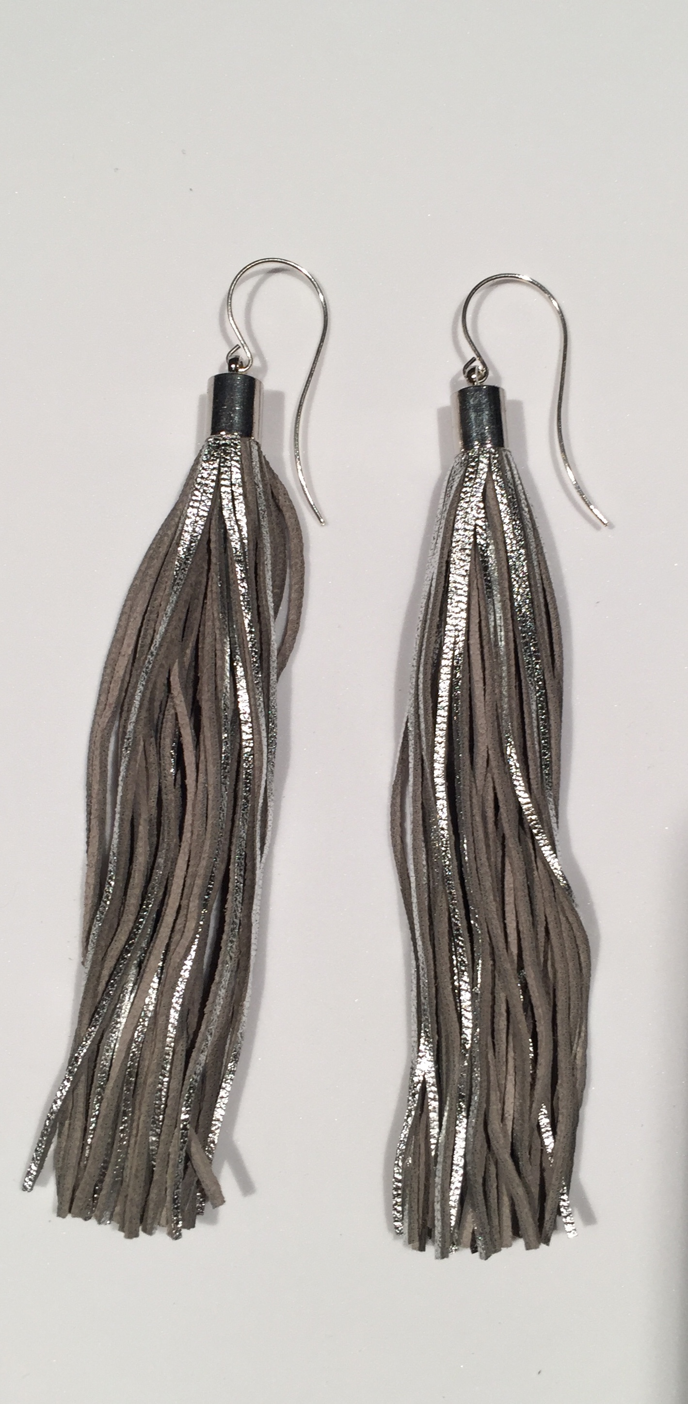 earrings online twenty west two tassle topped ink tassel shop
