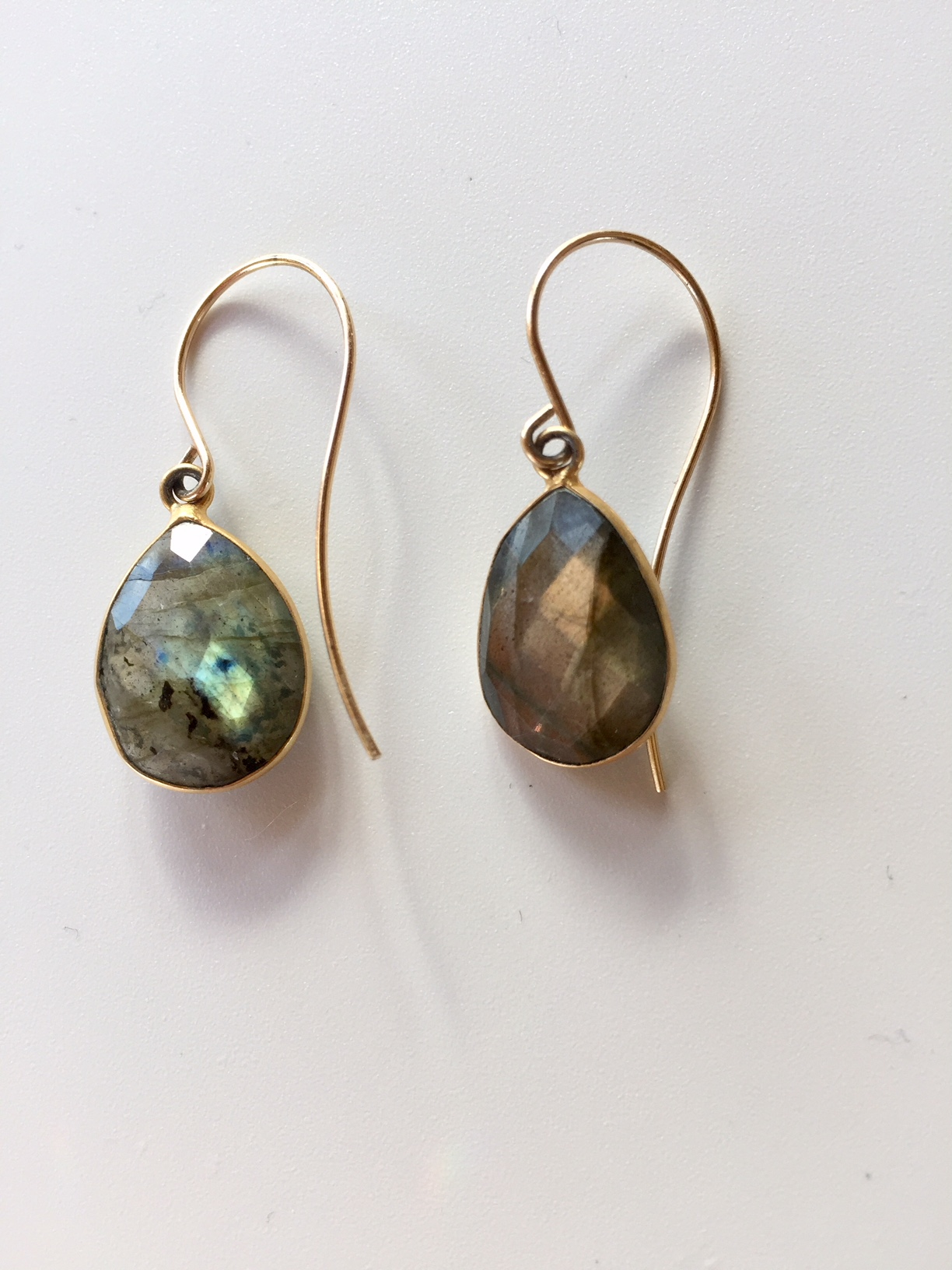 listing gold bezel labradorite stone gray earrings il fullxfull minimalist grey